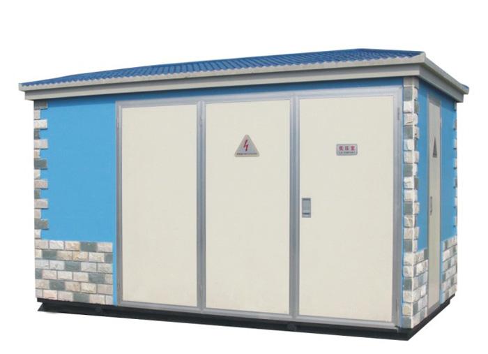 YBMF-35KV欧式风力发电箱式变电站